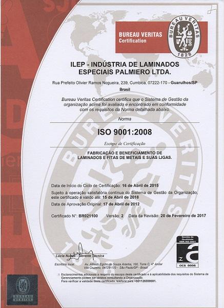 CertificadoISOm